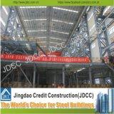 As plantas industriais pré-fabricaram a construção de aço