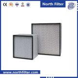 0.3um filtro de ar da caixa da fibra de vidro HEPA