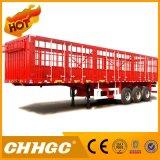 3 assen de Semi Aanhangwagen van de Vrachtwagen van de Staak van de Doos van 40 Ton