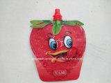 주둥이를 가진 플라스틱 과일 묵 음료 포장 주머니