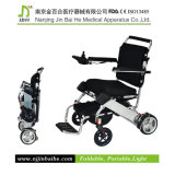 Lightweight di alluminio Folding Power Wheelchair con Lithium Battery