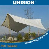 Anti-UV, imperméable bâche PVC pour Parasol