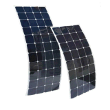 Comitato solare semi flessibile 100W di Sunpower