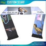 Aduanas ventiladores de impresión de seda bufanda de satén (T-NF19F10004)