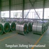 China primera calidad, JIS G3302/3312 SPCC PPGI bobinas de acero para techos de metal hoja
