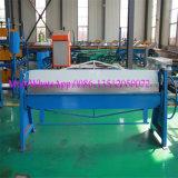 Manuelles Metallplattenwalzen-verbiegende Maschine
