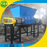 Caoutchouc en plastique solide/acier/pneu de rebut/arbre biaxiale/machine en bois industrielle de défibreur