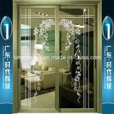 Guangdong Foshan fabricante que ofrece el aluminio puertas colgantes
