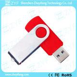 Flash Drive Logotipo de encargo de la venta caliente giratoria de la torcedura del USB (ZYF1257)