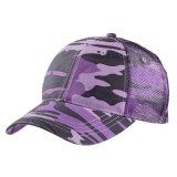 カスタムブランクCamoのトラック運転手の網の帽子のスポーツの帽子