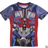 Commerce de gros de l'usure d'enfants T-Shirt à manches courtes La caricature T-Shirt enfant enfants T-Shirts du commerce de gros de vêtements des enfants
