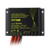 10Aは防水するリチウム電池(QW-SR-DH50-LI)のための太陽街灯のコントローラを