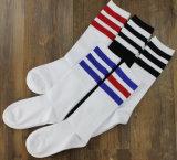 100% хлопок мужчин футбол Спортивные носки