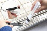 2-в-1 универсальную окна щетки для очистки паза с Dustpan 2, угол Cranny домашних клавиатура Съемная щетка для очистки прибора