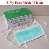 Masque facial antistatique jetable avec fibres antistatique