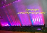 12PCS de RGB 3in1 18 X3w LED Wall Washer Running Effet de couleur Wall Washer Waterproof LED Wall Lamp