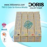 La m/c parte la cartuccia di toner della m/c di colore Tn512 per Konica Minolta Bizhub C454 C554