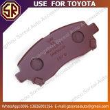 Toyota를 위한 고성능 자동차 부속 브레이크 패드 04465-Bz010