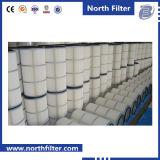 Filtro de cartucho eficiencia media para la purificación del aire