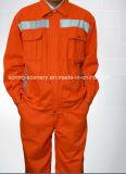 Retardateur de flamme Coverall-Flame Uniform-Protective résistant aux vêtements de travail (w-020)
