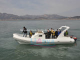 Liya 8.3m Cheap Fiberglass Passenger Rib Boat für Sale