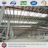 Construction d'entrepôt de bâti en métal de Prefabrciated