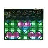 Segno flessibile di nuovo stile LED di colore completo di P4.75-16X32 RGB con la comunicazione di Smartphone Bluetooth APP