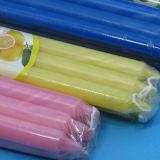Venta al por mayor de la vela decorativa / Hogar cera de parafina vela del color