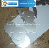 Spessore rotondo dei dischi 1.5mm del molibdeno Polished