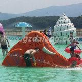 Children를 위한 큰 Elephant Slide