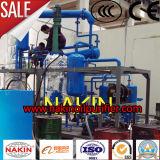 Planta de la refinería de petróleo del alto vacío, aceite de motor inútil que recicla la máquina
