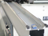 滑走表のパネルは木工業については機械を見た