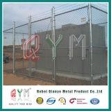 Metallüberzogener galvanisierter Puder-überzogener Kettenlink-Stahlzaun