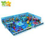 Certification SGS Amusement Park Shopping Mall de l'équipement de terrain de jeu intérieure pour enfants