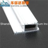 Perfis de alumínio revestidos do pó branco da cor