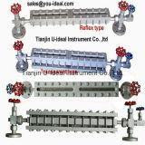Indicateur de niveau de tube de verre de niveau de plaque acrylique d'Indicateur-Glace