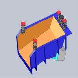 Alimentador de vibração electromagnética para alimentação de material para o moinho de bolas