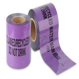 Non-Detectable地下のプラスチック警告テープ