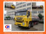 8X4 350p Hongyan Réservoir de stockage de pétrole lourd, réservoir de carburant des camions