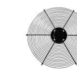 Защита вентилятора двигателя оцинкованной стали сетки ограждения вентилятора