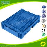 Muffa pieghevole di plastica del contenitore di colore blu