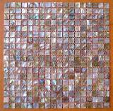 A Shell Mosaicos, parede do reservatório de ladrilhos, mosaicos do mosaico da Shell do Mar (YB1502)