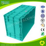 Colore blu-chiaro resistente che impila le caselle di memoria di plastica