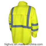 ANSI 기준 (SJ-001)를 가진 안전 비옷