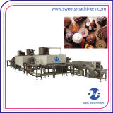 Schokoriegel-abgebende Maschinen-Schokolade, die Maschinen für Verkauf herstellend formt