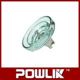 Insulador de suspensão de vidro de alta tensão (LXP-70/100/120)
