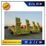 De lage Aanhangwagen van het Bed, de Lage Semi Aanhangwagen van het Bed 80t, Semi Aanhangwagens Lowbed en de Aanhangwagens van de Vrachtwagen
