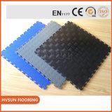 Esteras del suelo de la gimnasia del PVC con los azulejos plásticos multiusos para el cuarto de baño