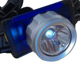 3AAA에 의해 강화되는 적절한 디자인 아BS 바디 1W Headlamp