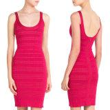 Фрикционная порванный жгут платье с Sexy Backless производителей одежды